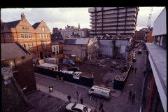 Temple Bar Square under development.