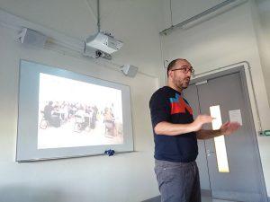 Angel Gonzalez, founder of the PhotoIreland Foundation